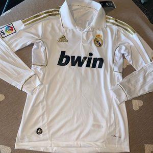Real Madrid Ronaldo long sleeve soccer jersey